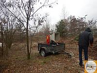 Садовий подрібнювач гілок оренда послуги, фото 1