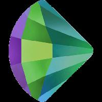Cтразы Swarovski для ногтевого дизайна 2714 Crystal Scarabaeus Green 6 мм
