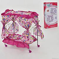 Кроватка для кукол Fei Li 987
