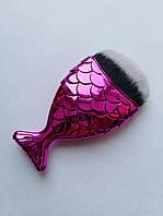 Щетка-рыбка для удаления пыли, розовая