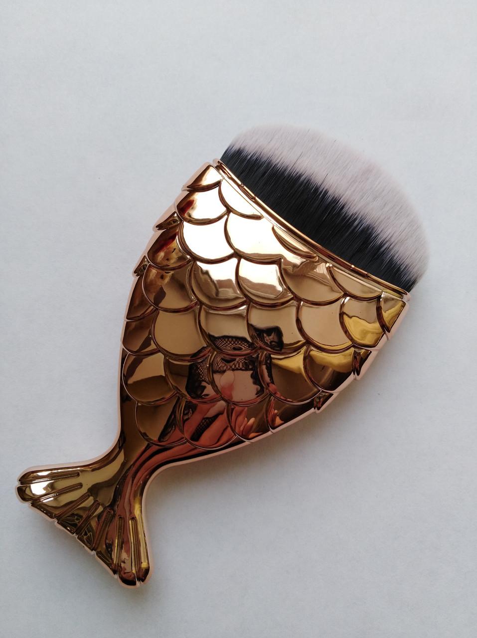 Щетка-рыбка для удаления пыли, розовое золото