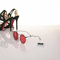 Женские очки Hend Made круглые красные
