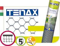 Сетка для декоративного ограждения Tenax Эксагон (1х30 м) серебристая