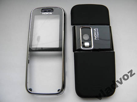 Качественный корпус Nokia 6233 чёрный не дорогой, фото 2