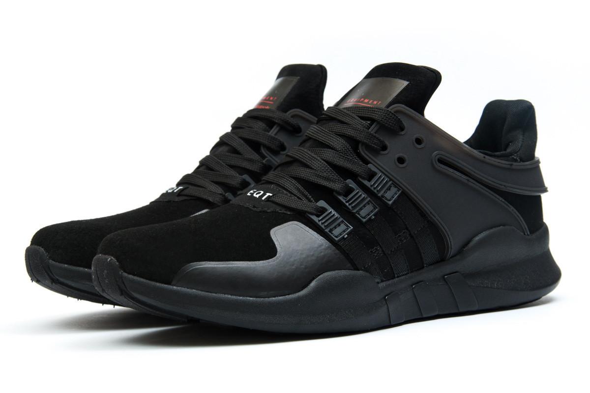 b00f490c Кроссовки мужские Adidas EQT ADV/91-16, черные (11994) размеры в ...