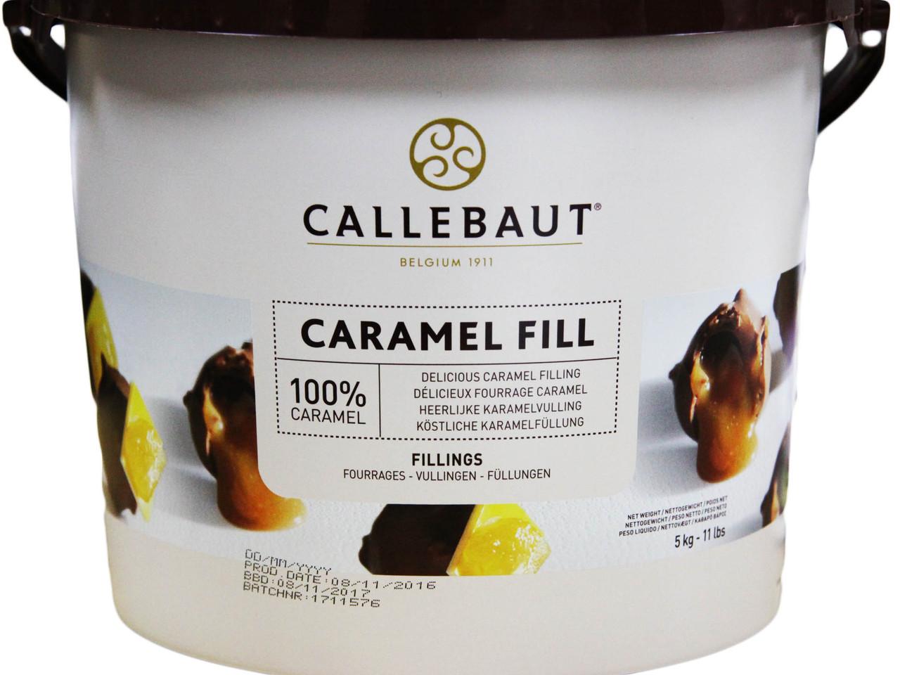 Callebaut Caramel Fill 5 кг відро ( Карамель )