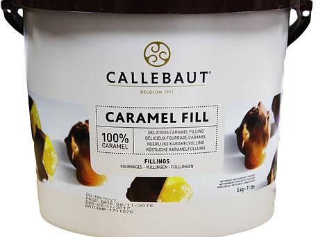 Callebaut Caramel Fill 5 кг відро ( Карамель ), фото 2
