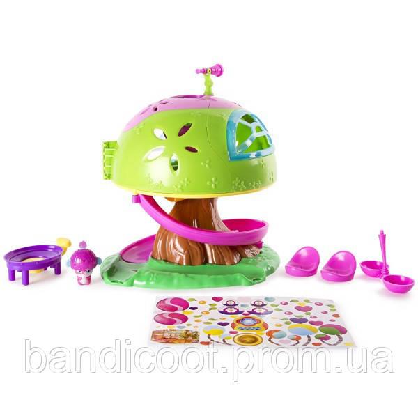 Малыши-прыгучи Игровой набор Дом на дереве Popples, Spin Master