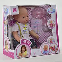 Пупс функциональный Warm baby 8009-433 с аксессуарами