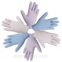 """Перчатки смотровые нестерильные нитриловые неприпудренные """"Medicare"""" р.(7-8)"""