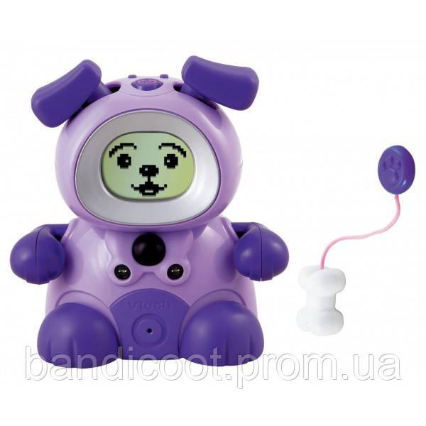 Интерактивная игрушка домашний питомец – фиолетовая Собака Vtech Kidiminiz KidiDog Interactive Pet Dog - Purpl