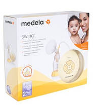 Двофазний електричний молоковідсмоктувач Medela Swing