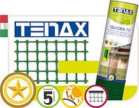 Сетка для декоративного ограждения Tenax Квадра 10 (1х50 м) зеленая