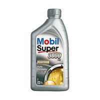 Синтетическое моторное масло Mobil Super 3000 5W-40 X1 1 л