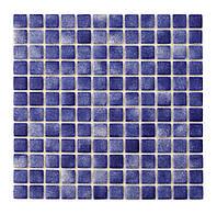 Красивая стеклянная мозаика   Cobalt PW25204 25х25 мм.