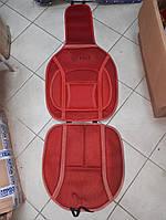 Накидка на  автомобильное сиденье Vitol 1 шт Красная, фото 1