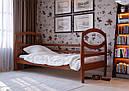 Дитяче Підліткове ліжко з дерева в дитячу кімнату (кроватка) Наутілус 80 ДОК, фото 2