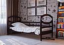 Дитяче Підліткове ліжко з дерева в дитячу кімнату (кроватка) Наутілус 80 ДОК, фото 3