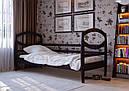 Дитяче Підліткове ліжко з дерева в дитячу кімнату (кроватка) Наутілус 80 ДОК, фото 4