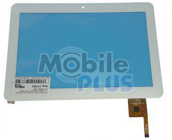Сенсорный экран (тачскрин) для планшета 10,1 дюймов Assistant AP-104 (Model: PB101A8495) White