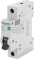 Автоматический выключатель Schneider Electric EASY 9 1Р 6А EZ9F34106