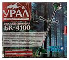 Бензокоса Урал 4100 2 Ножа + 1 Шпуля с леской. Триммер, фото 2
