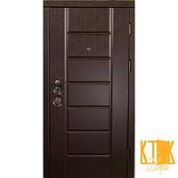 """Двери входные Канзас серии """"Элит Mottura"""" (венге), фото 1"""