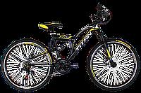 "Горный велосипед Titan Panther 26"" (Black-Yellow-Gray), фото 1"