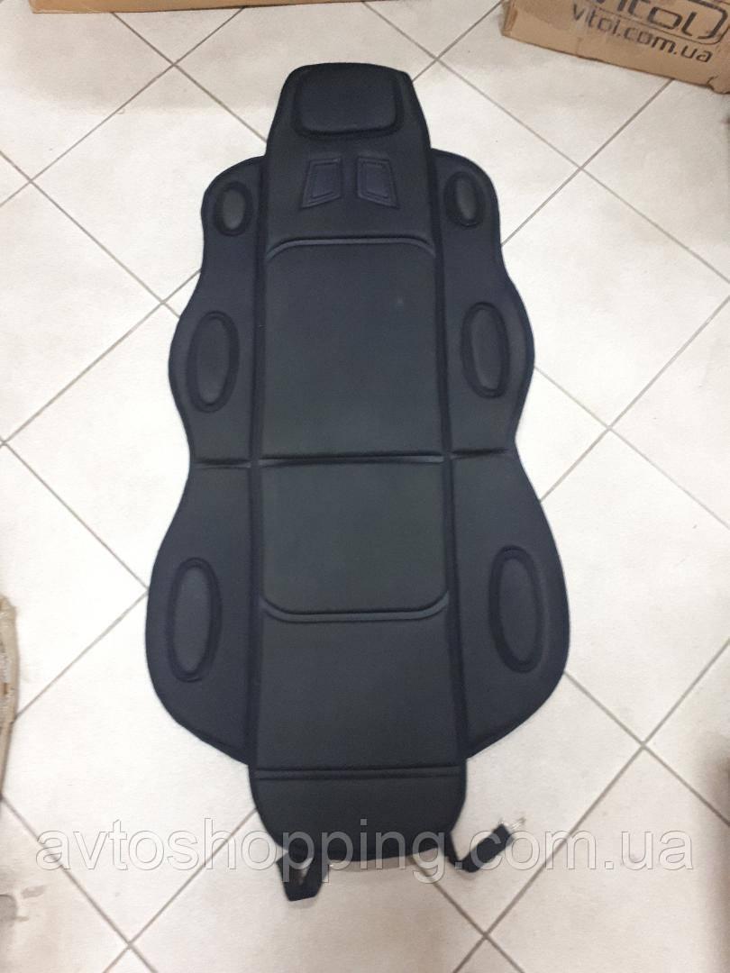 Накидка на автомобільне сидіння Vitol 1 шт Чорна