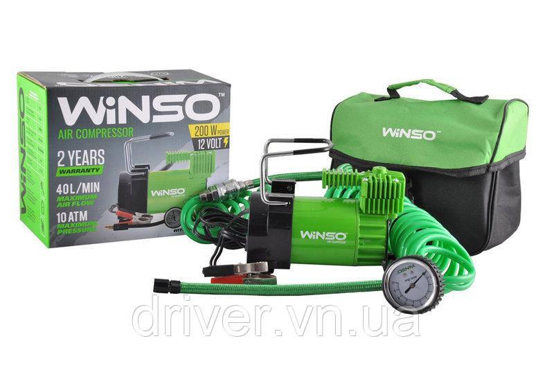 Автокомпресор WINSO 126000, 10Amp / 40л. Клеми. Польша
