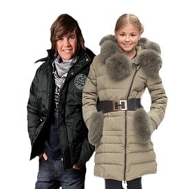 Подростковая зимняя верхняя одежда