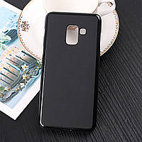 Силиконовый TPU чехол JOY для Samsung Galaxy A8 2018 A530F черный