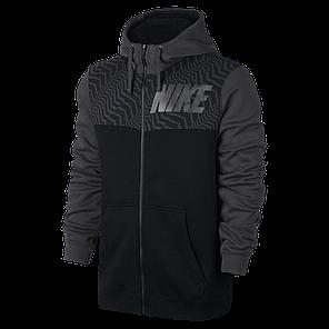 Толстовка Nike NSW Hoodie Fz Flc 861722-010 (Оригинал) , фото 2