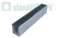 Лоток BetoMax Drive ЛВ–10.16.21–Б бетонний з решіткою щілинною чавунною ВЧ кл.D (комплект) 04007134