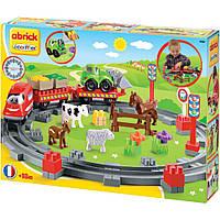 Конструктор Сельская железная дорога Ecoiffier  (3068)