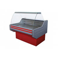 Холодильная витрина Айстермо ВХСК ЭЛЕГИЯ 2.0 (0...+8°С, 2000х1000х1200 мм, гнутое стекло)