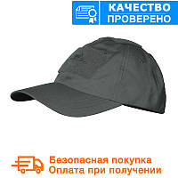 Бейсболка Helikon Tactical PoliCotton Ripstop Ripstop Shadow Grey (CZ-BBC-PR-35)