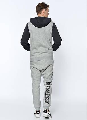 Толстовка Nike NSW Hoodie Fz Flc 861722-063 (Оригинал), фото 2