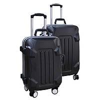 Элитный пластиковый чемодан на колесиках
