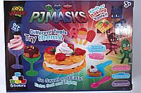 Набор для творчества PJM, мороженое/пироженое, 6 цветов, формочки, в кор.
