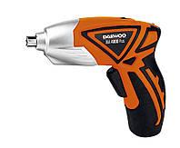 Отвертка аккумуляторная Daewoo  DAA 4800 PLUS (Емкость NiCd аккумулятора 0,8 А/ч, реверс, подсветка, макс. диаметр шурупа 6,35 мм)