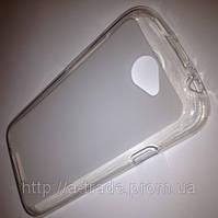 Чехол (силиконовая накладка) для телефона HTC OneV t320e прозрачный