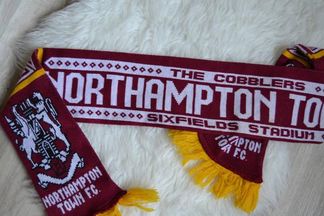 Футбольный шарф Нортгемптон Таун, фото 2