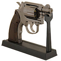 Газовая зажигалка револьвер.