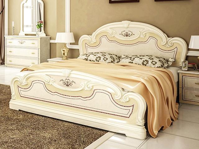 Ліжко з ДСП/МДФ в спальню Мартіна 1,8х2,0 підйомне з каркасом Миро-Марк