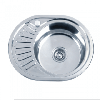 Врезная кухонная мойка Platinum 57*45*18 Decor 0.6 Мини-кепка
