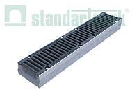 Лоток BetoMax Drive ЛВ–15.21.10–Б бетонний з решіткою щілинною чавунною ВЧ кл.D (комплект) 04227134