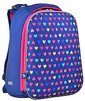 Рюкзак каркасный H-12-1 Hearts, 38*29*15  554484