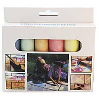Мелки для рисования на асфальте цветные