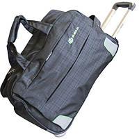 Винтажная сумка дорожная на колёсах